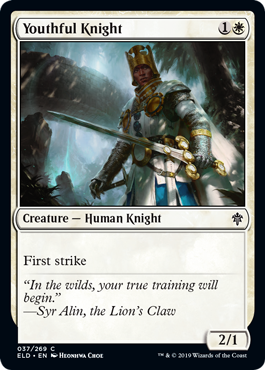 Youthful Knight - Magic: the Gathering