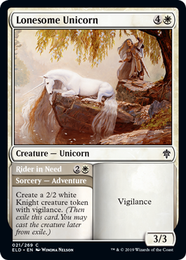 Lonesome Unicorn - Magic: the Gathering