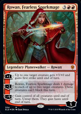 Rowan, Fearless Sparkmage