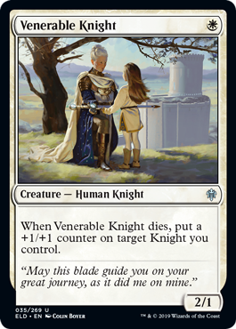 Venerable Knight - Magic: the Gathering