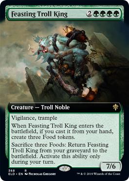 Roi troll festoyant