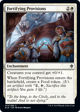 Fortifying Provisions - Magic: the Gathering