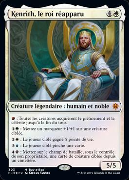 Kenrith, le roi réapparu