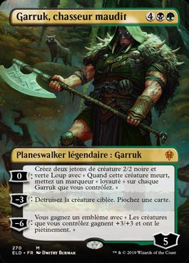 Version alternative de Garruk, chasseur maudit