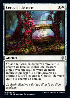 Cercueil de verre