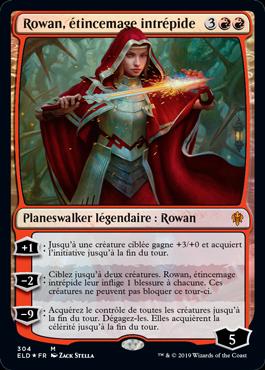 Rowan, étincemage intrépide