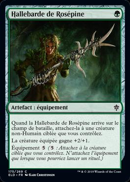 Hallebarde de Rosépine