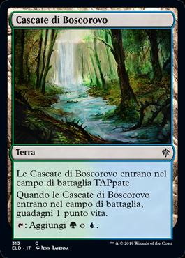 Cascate di Boscorovo