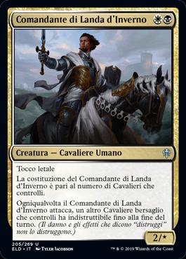 Comandante di Landa d'Inverno