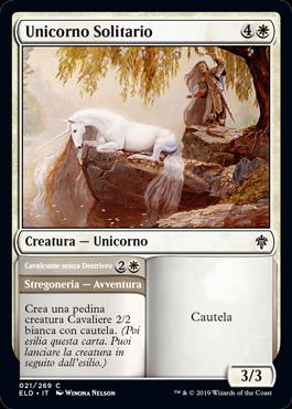 Unicorno Solitario