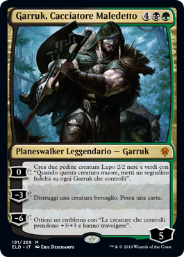 Garruk, Cacciatore Maledetto