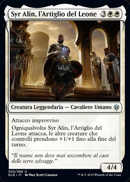 Syr Alin, l'Artiglio del Leone