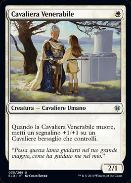 Cavaliera Venerabile