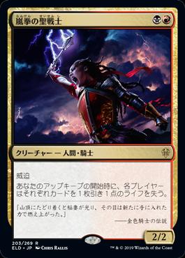 嵐拳の聖戦士