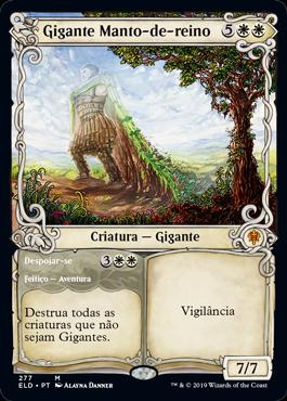 Gigante Manto-de-reino