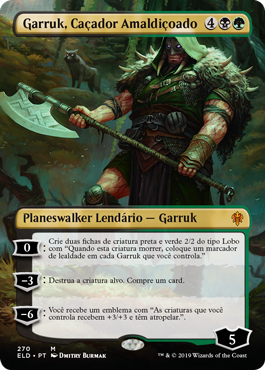 Garruk, Caçador Amaldiçoado Alternativo