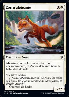 Zorro aleteante