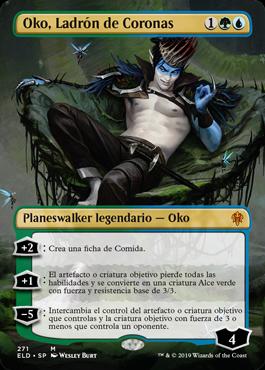 Oko, Ladrón de Coronas