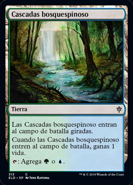 Cascadas bosquespinoso