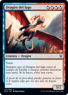 Dragón del lago