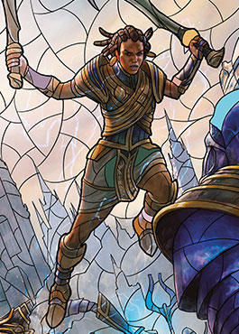 A Closer Look at the Stained-Glass Planeswalkers | MAGIC: THE GATHERING