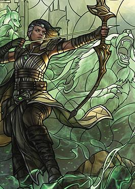 野獣の擁護者、ビビアン(Vivien, Champion of the Wilds)