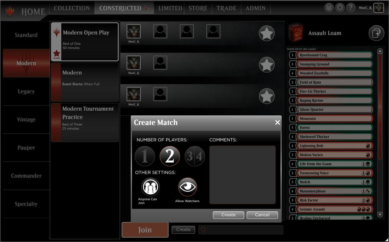 Create Match