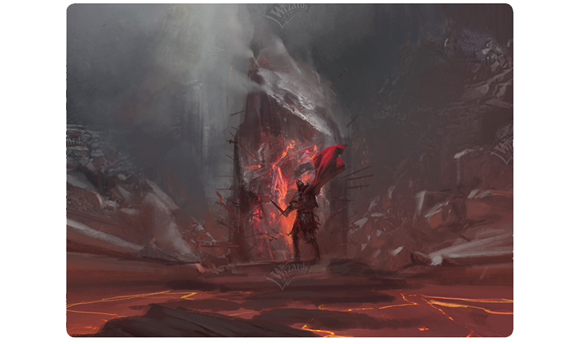 Concept art of the Irencrag
