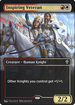 Inspiring Veteran premium card style