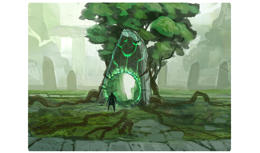 Gnomon Portal concept art