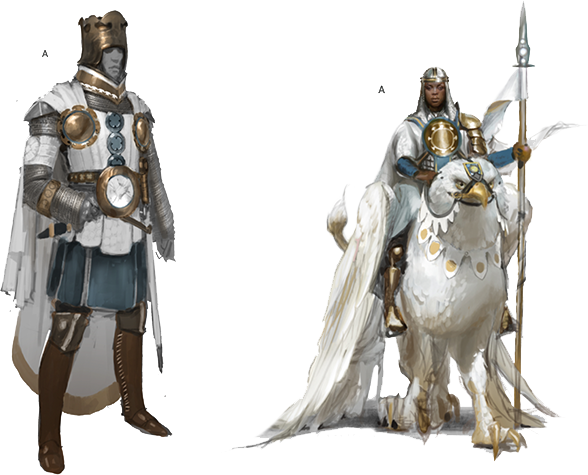 Ardenvale Knight concept art