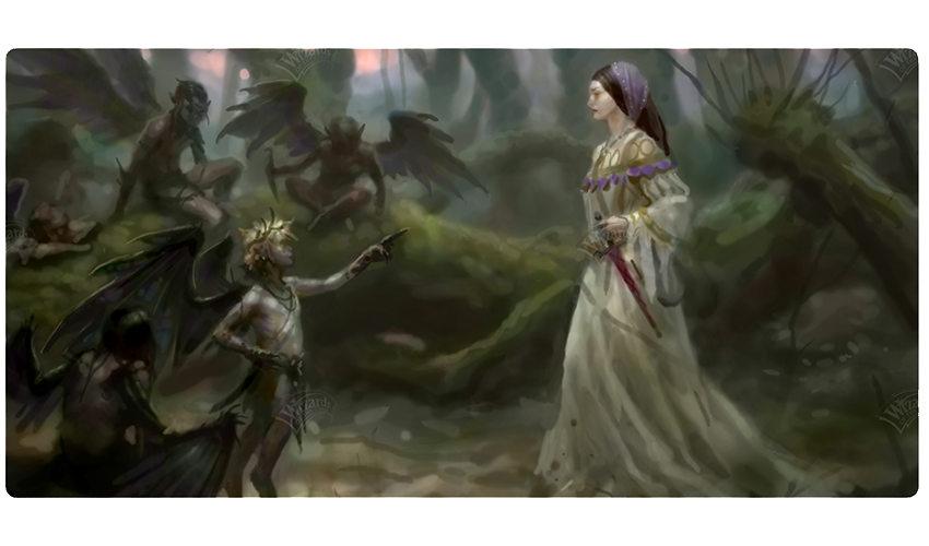 Faeries vs Human Concept art
