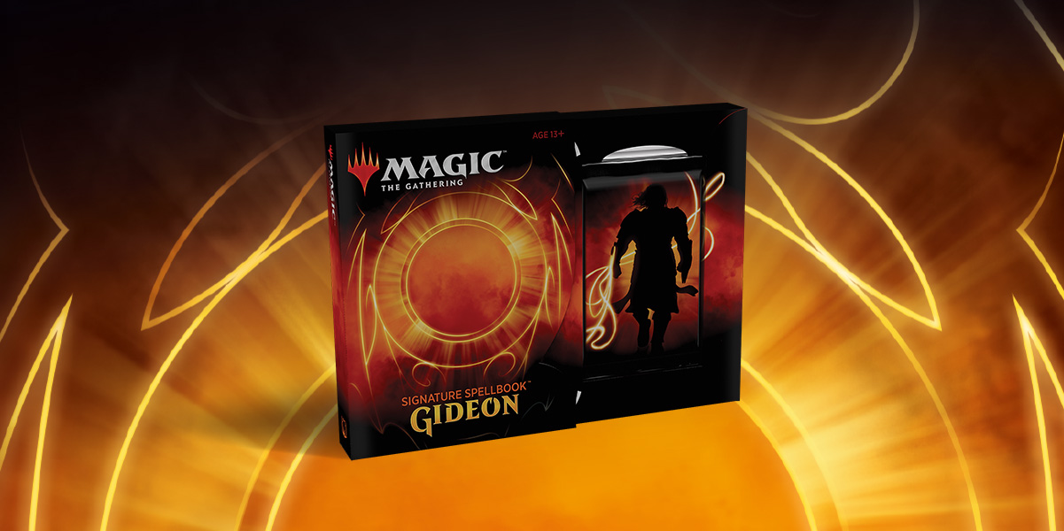 MTG: Signature Spellbook Gideon -  Wizards of the Coast