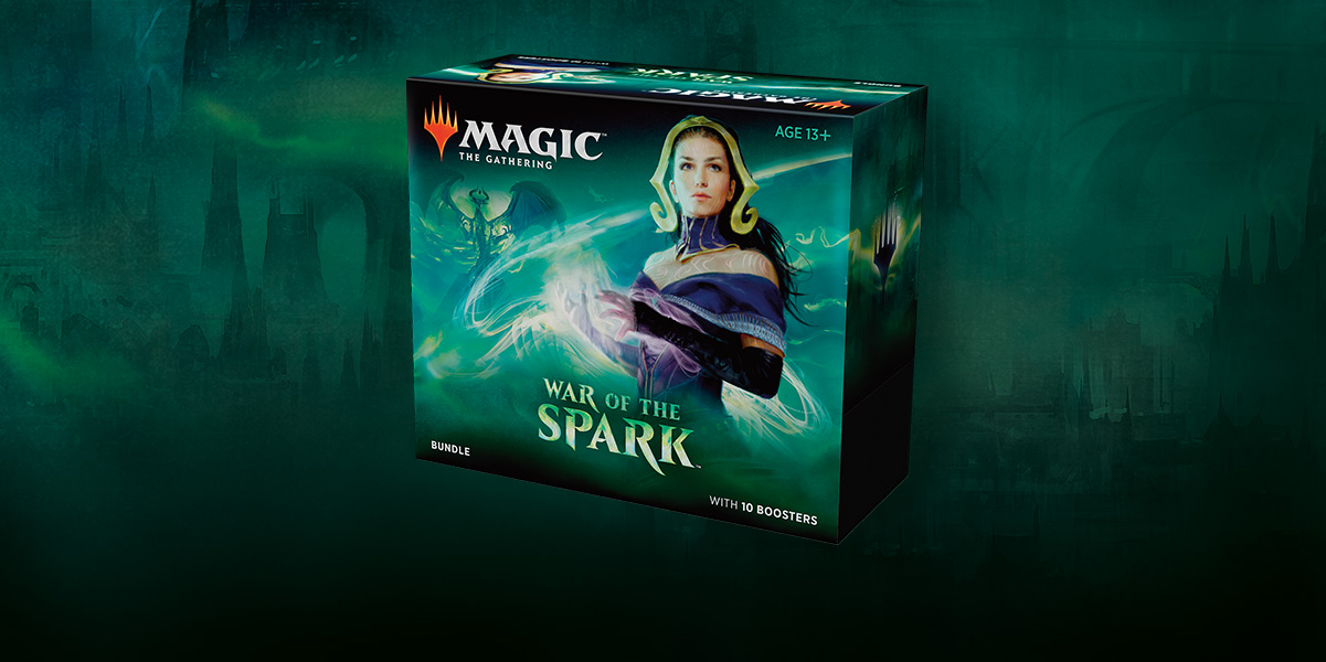 MTG: War of the Spark Bundle (T.O.S.) -  Wizards of the Coast