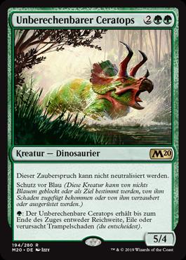Unberechenbarer Ceratops