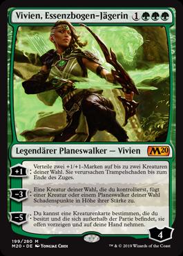 Vivien, Essenzbogen-Jägerin