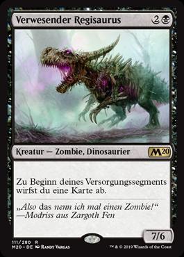 Verwesender Regisaurus