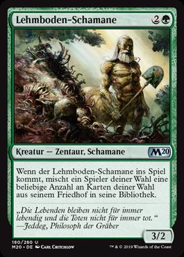 Lehmboden-Schamane