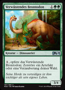 Verwüstendes Brontodon