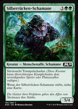 Silberrücken-Schamane