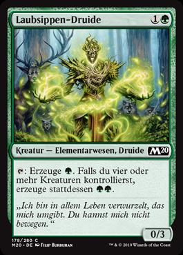 Laubsippen-Druide
