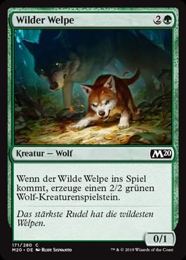 Wilder Welpe