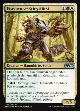 Eisenwurz-Kriegsfürst