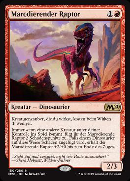 Marodierender Raptor