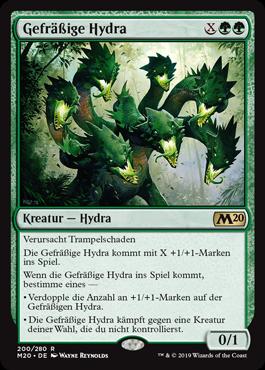 Gefräßige Hydra