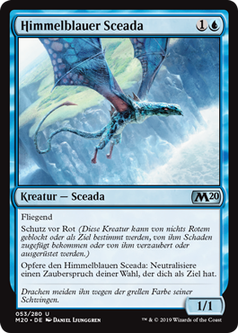 Himmelblauer Sceada