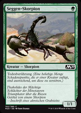 Seggen-Skorpion