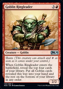 Goblin Ringleader - Magic: the Gathering