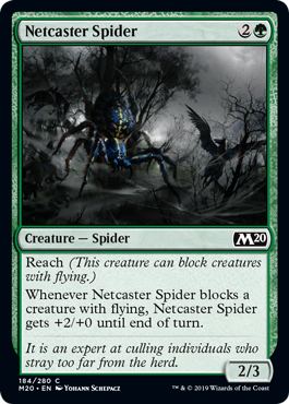 Netcaster Spider - Magic: the Gathering