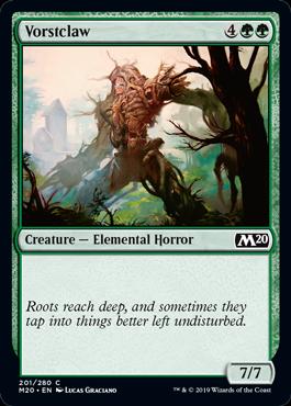 Vorstclaw - Magic: the Gathering